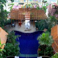 酒店室内温泉